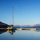 Loch Leven from Ballachulish. by John Cameron