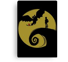 Dragon Nightmare Canvas Print