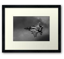 F15 in the Loop Framed Print