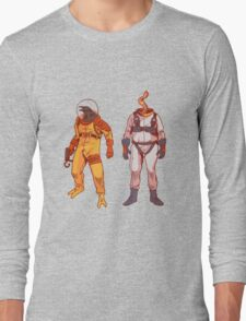 Earthworm Jim & Psycrow Long Sleeve T-Shirt