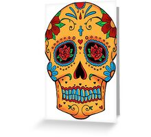 Skull Mexican Greeting Card