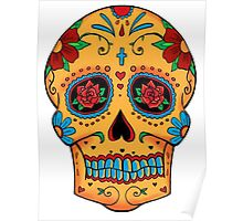 Skull Mexican Poster