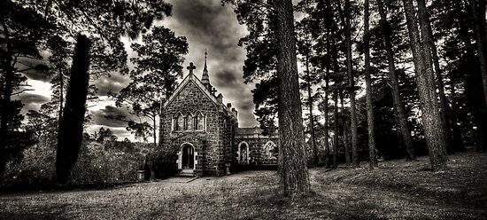 Monsalvat Chapel by Alistair Wilson
