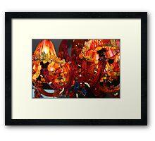 Chandelier of Love Framed Print