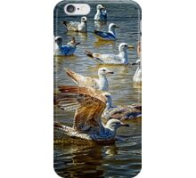 Seagulls at Southwold iPhone Case/Skin