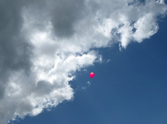 Pink Balloon by Mike Paget