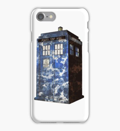 Dr Who Police Box T-Shirt iPhone Case/Skin