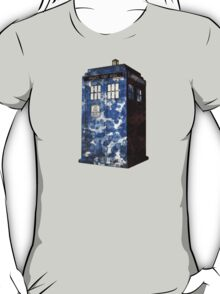 Dr Who Police Box T-Shirt T-Shirt