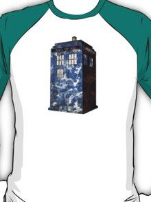Dr Who Police Box T-Shirt T-Shirt