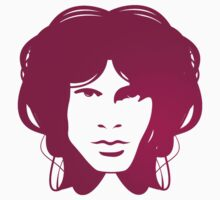 Jim Morrison (purple) by Brad Sharp