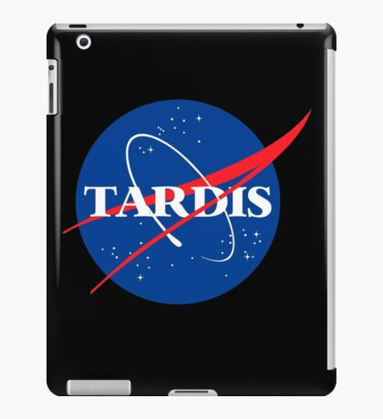 Dr Who Tardis T-Shirt iPad Case/Skin