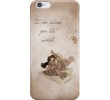 Aladdin inspired valentine. iPhone Case/Skin
