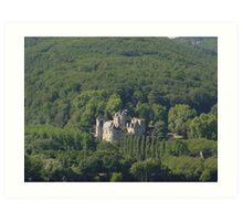 Chateau Milandes Art Print