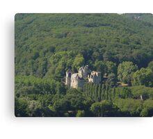 Chateau Milandes Canvas Print