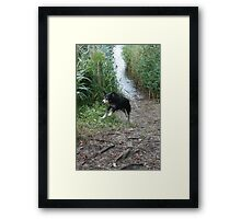Megan Having Fun Framed Print