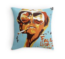 Fear and Loathing in Las Vegas Painting Throw Pillow