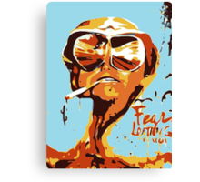 Fear and Loathing in Las Vegas Painting Canvas Print