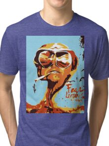 Fear and Loathing in Las Vegas Painting Tri-blend T-Shirt