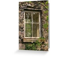 Looking Through The Window... Greeting Card