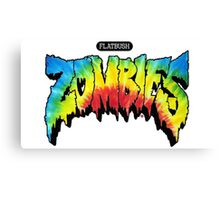 FlatBush Zombies Tie Dy Canvas Print