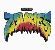 FlatBush Zombies Tie Dy T-Shirt