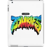 FlatBush Zombies Tie Dy iPad Case/Skin