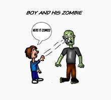 A Boy and His Zombie Unisex T-Shirt