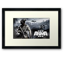 Arma 3 Framed Print