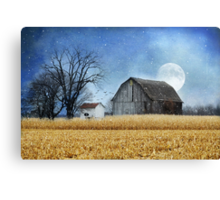 Night of the Full Moon Canvas Print