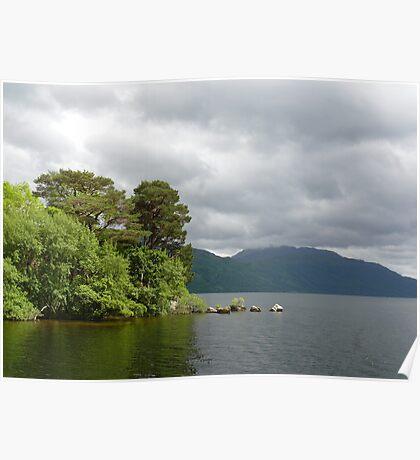 Scotish Loch Poster