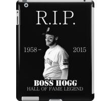 RIP Boss Hogg shirt iPad Case/Skin