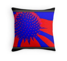 3-D Color Splash Throw Pillow