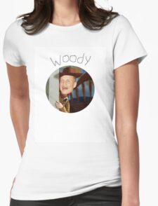 Woody Womens Fitted T-Shirt