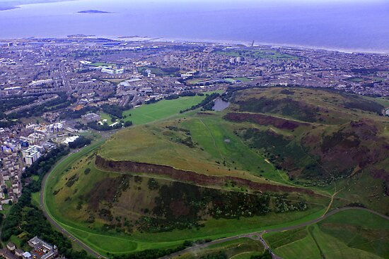 Arthur's Seat and Salisbury Crags by Tom Gomez