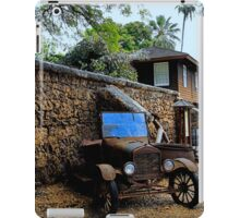Old Lahaina Jail - Maui iPad Case/Skin