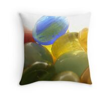 Loosing My Marbles Throw Pillow