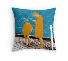 The Times of Childhood Throw Pillow