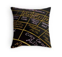 Circle of Time Throw Pillow