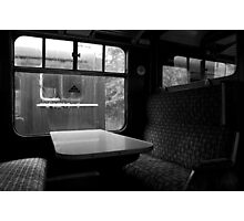 Empty Carriages Photographic Print