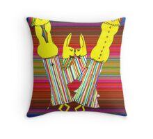 Happy Vibes Throw Pillow