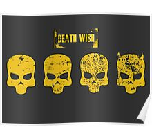 Payday 2 Skulls - Death Wish Poster