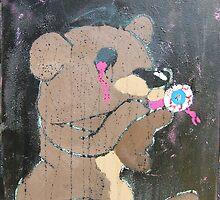 Bear Kiss by Mylojs