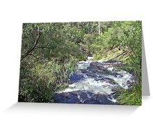 flowing river   Greeting Card