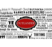 Outlander Mug (Red) by patee333