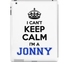 I cant keep calm Im a JONNY iPad Case/Skin