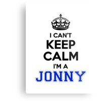 I cant keep calm Im a JONNY Metal Print