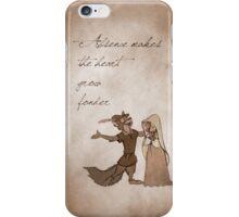 Robin Hood inspired valentine. iPhone Case/Skin