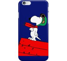 Snoopy Red Baron iPhone Case/Skin