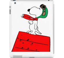 Snoopy Red Baron iPad Case/Skin