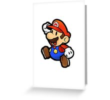 Mario Greeting Card